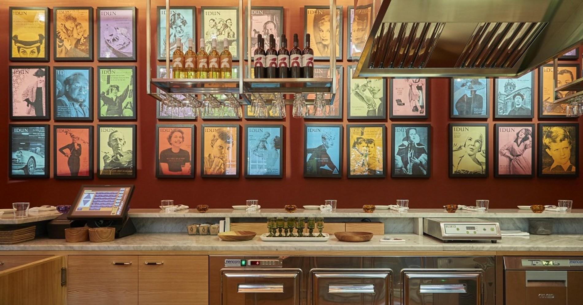 Bj rk swedish brasserie milano menu speciale per la for Settimana design milano
