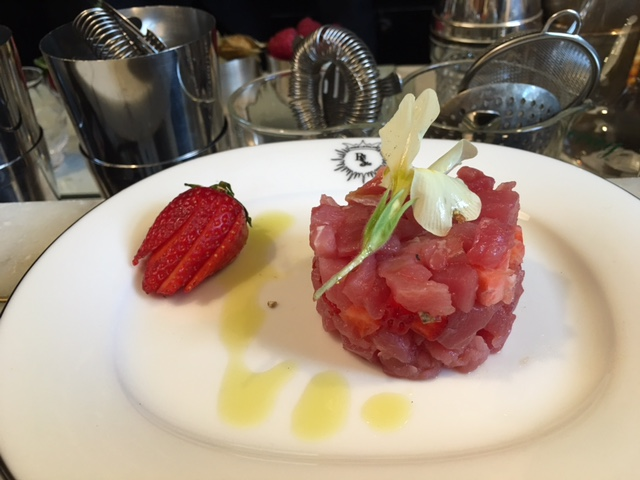 Tartare di fragola Re Sole Bistrot