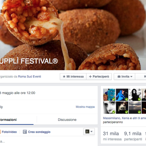 Supplì festival a Roma, bufala o marketing? (comunque, ce lo meritiamo)