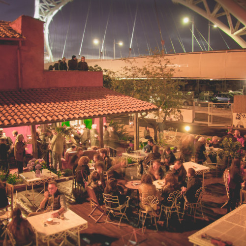 La Maisonette Ristrot Roma, mangiare all'aperto a Garbatella