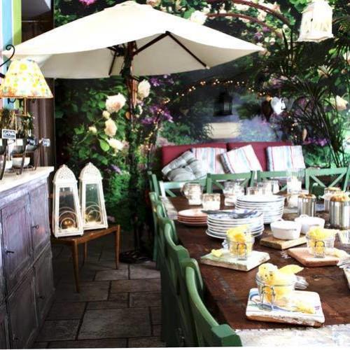 Mangiare all'aperto a Milano, terrazze e giardini di primavera