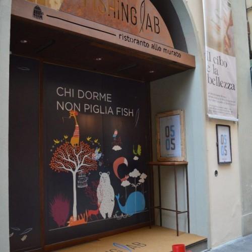 Fishing Lab alle Murate Firenze, lo street food di mare incontra Dante
