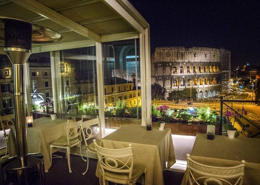 Awesome Ristoranti Terrazza Roma Images - Idee Arredamento Casa ...