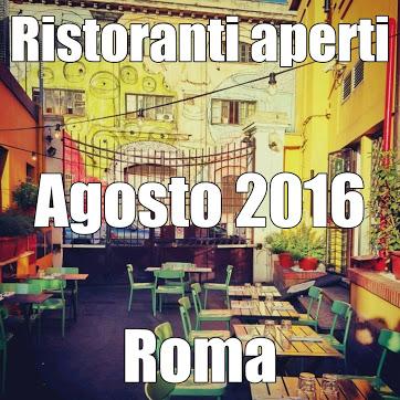 ristoranti aperti agosto 2016 roma (1)