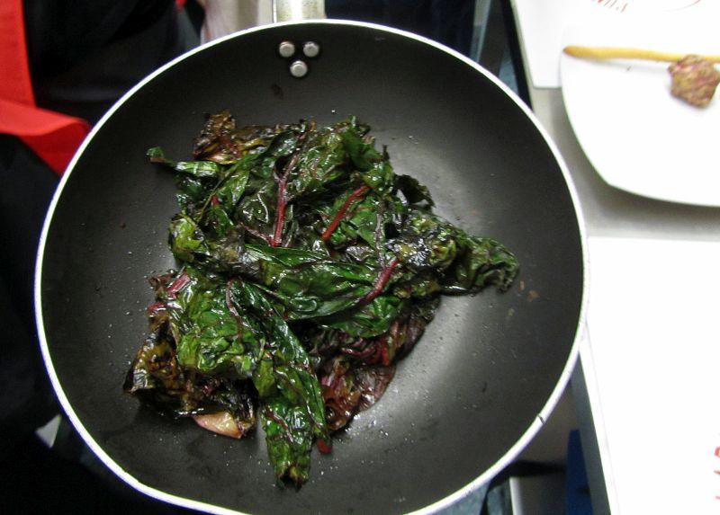 Coste di bietole rosse ricetta ginevra antonini for Cucinare bietole