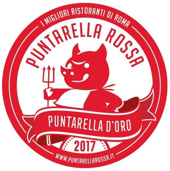 puntarella d'oro 2017 i migliori ristoranti di roma puntarella rossa vetrofania