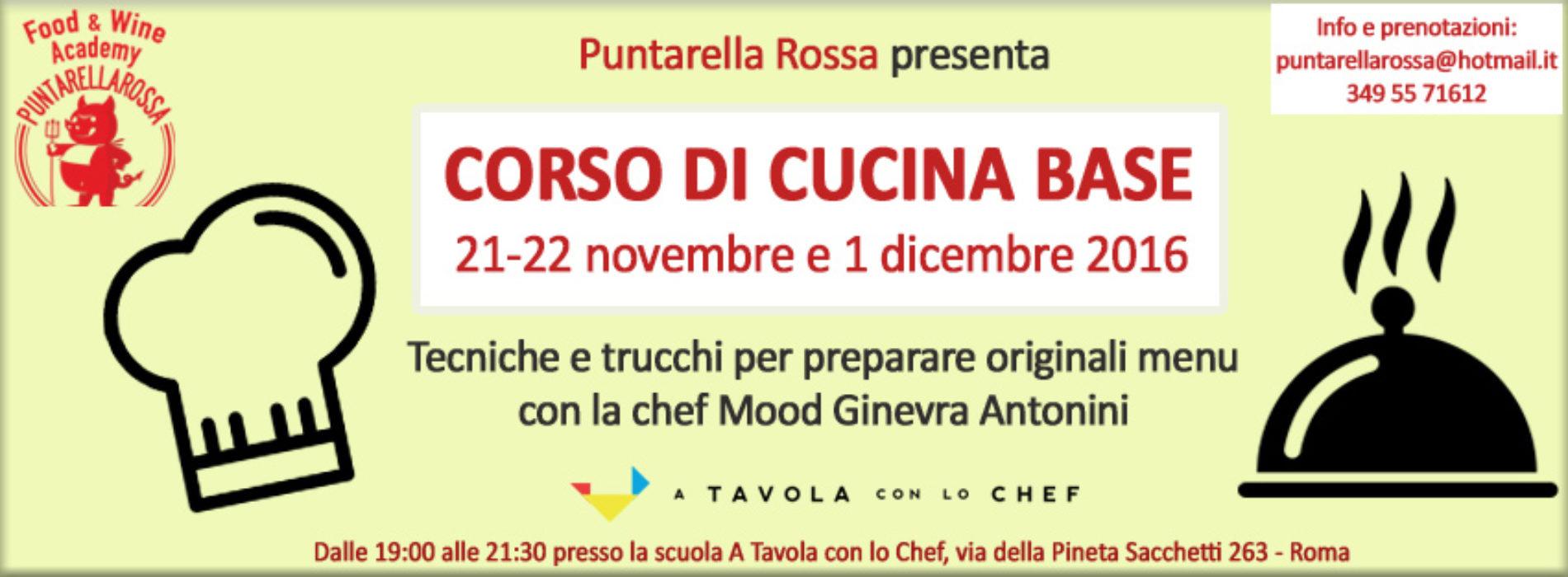 corso di cucina base roma novembre 2016 - puntarella rossa - Corso Base Di Cucina