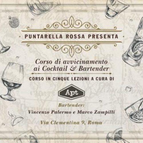Corso di avvicinamento al mondo dei cocktail & bartending Roma gennaio 2017