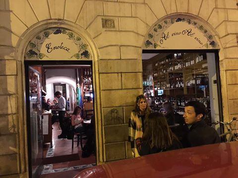 Al vino al vino i migliori wine bar di roma