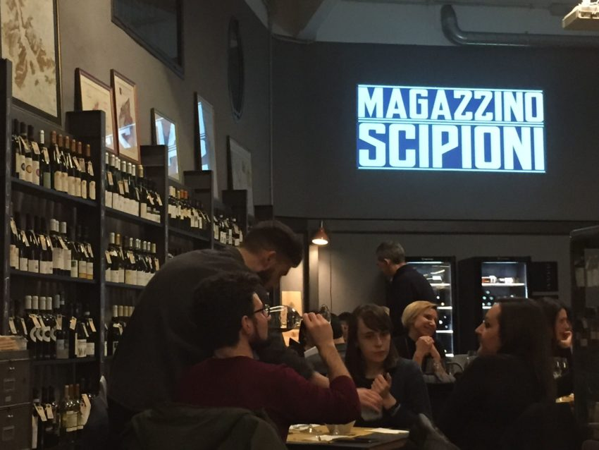 I migliori wine bar di roma Magazzino Scipioni