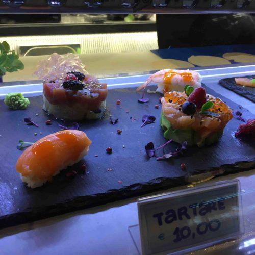 Mercato Centrale Roma, due novità: il sushi di Orient Express e il vino Selezione Boccoli