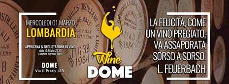 wine dome lombardia