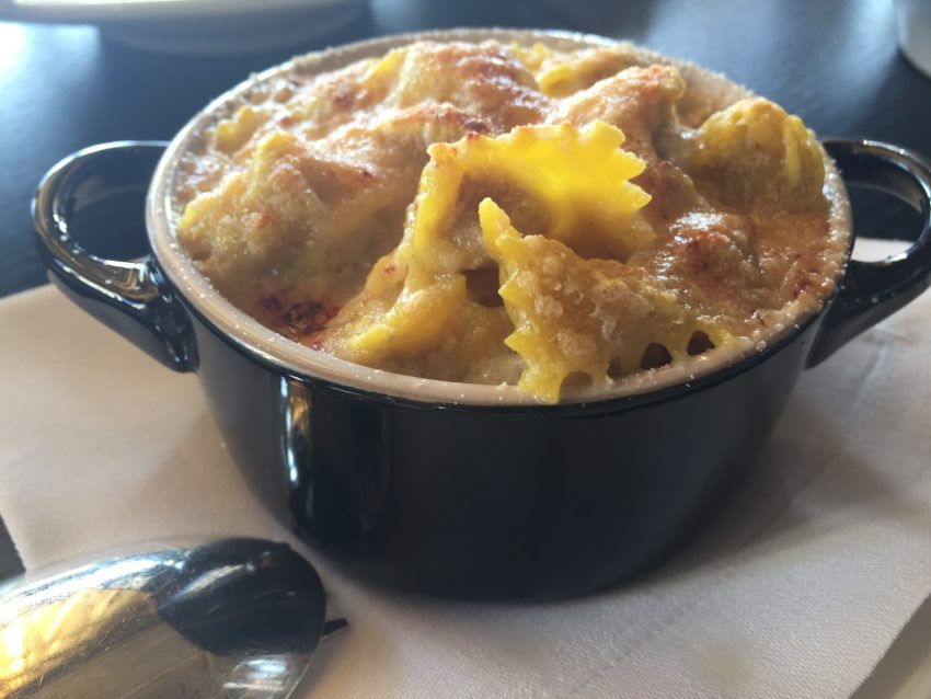 mac and cheese Aman Venice