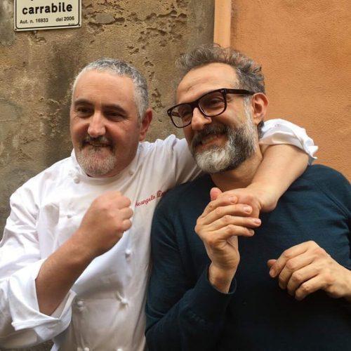 Miglior supplì, Bottura vince a Modena la sfida con Dandini, Roscioli e i foodies di Mazzo Roma