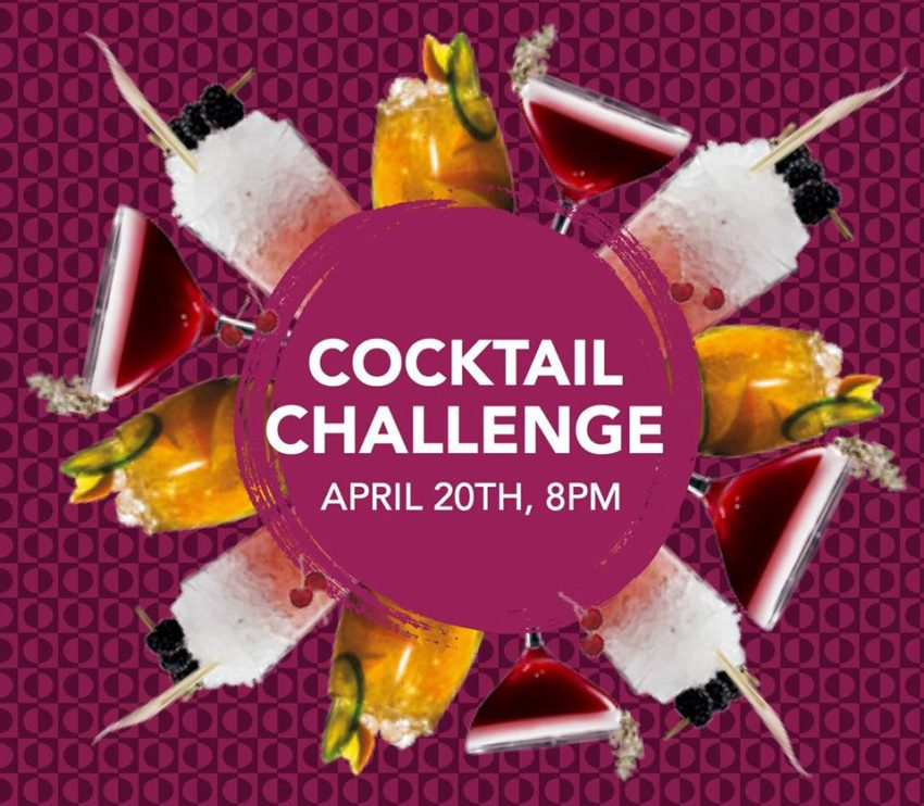 fusion cocktail chalenge