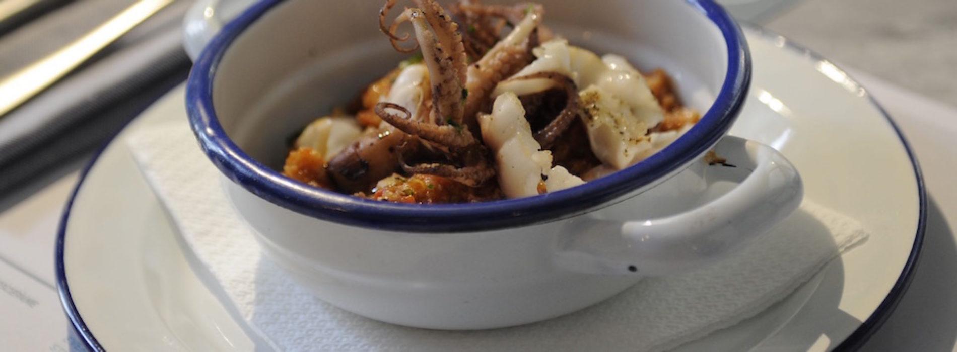 La Cucina di Pescepane Firenze, crostini gran fritto e tartare di pesce nel cuore di Sant'Ambrogio