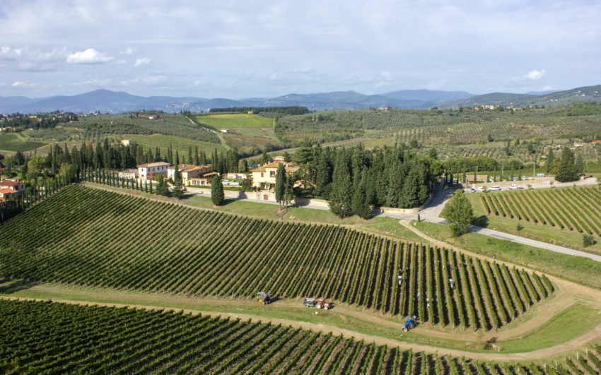 1 Villa Poggio Casciano-Ruffino