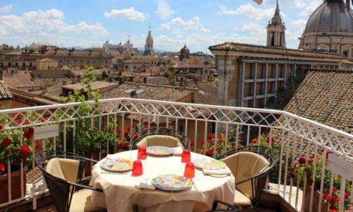 Mater Terrae Roma, il vegetariano sulla terrazza del Raphael (con la consulenza di Leemann)