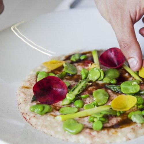 Fiore Crudo e Vapore Roma e la cucina flexiteriana: mangiare bene e sano (in terrazza)