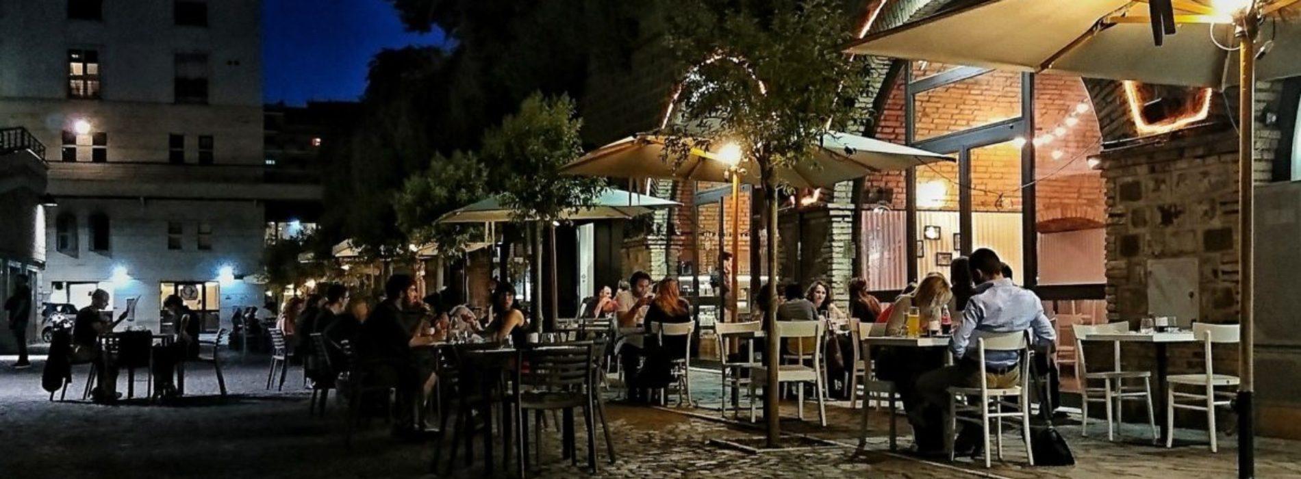 Mangiare all 39 aperto a roma ristoranti e trattorie con dehors puntarella rossa - Ristoranti con giardino roma ...