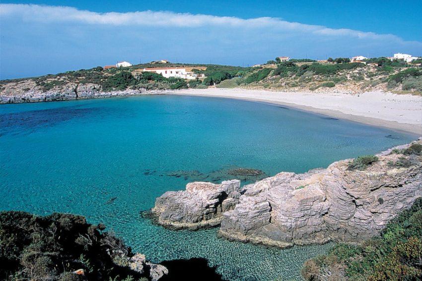 Carloforte e isola di san pietro spiaggia la bobba