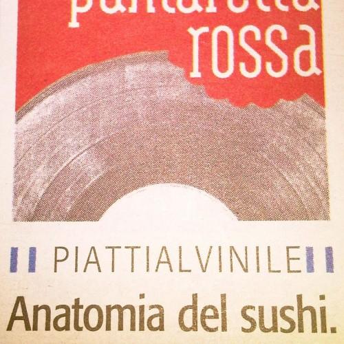 Anatomia del sushi. Secondo il Cerruti