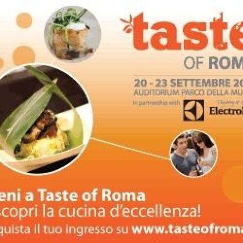 Auditorium, comincia Taste of Roma