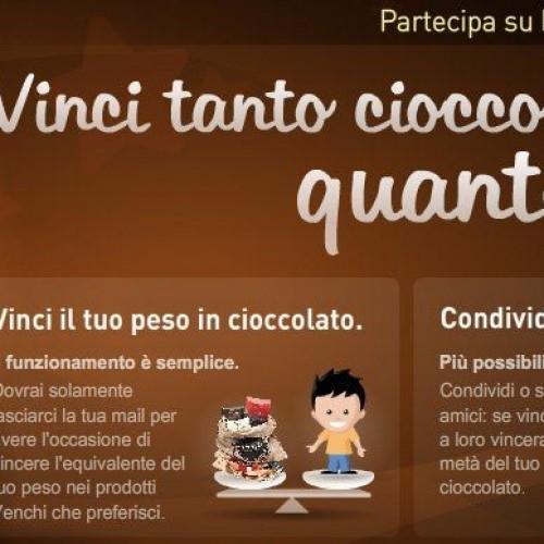 Cioccolato, lo spot che ti fa ingrassare