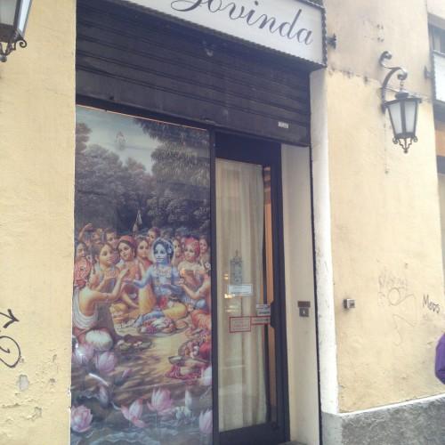 Milano, pausa pranzo da Govinda