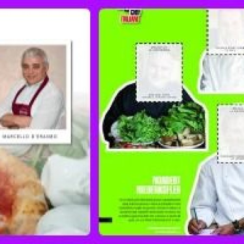 L'album di figurine di chef e pizzaioli