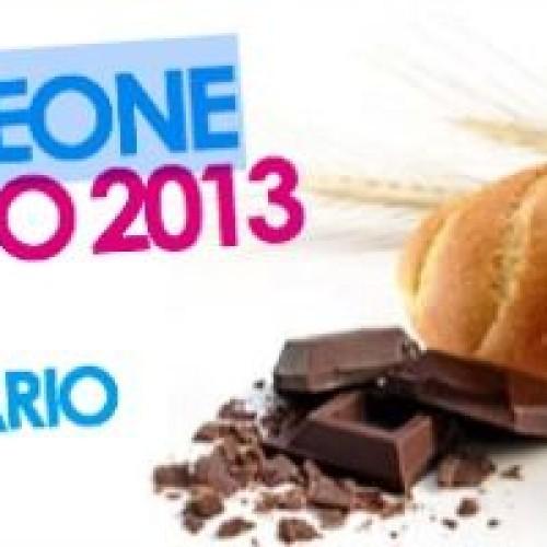 A Castelleone un panino da record: 3 km di cioccolato e granella