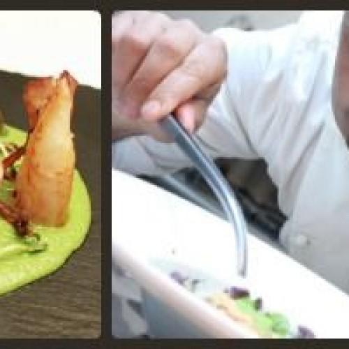 Claudio Petrolo, lo chef di Latina che cucina per la tv cinese