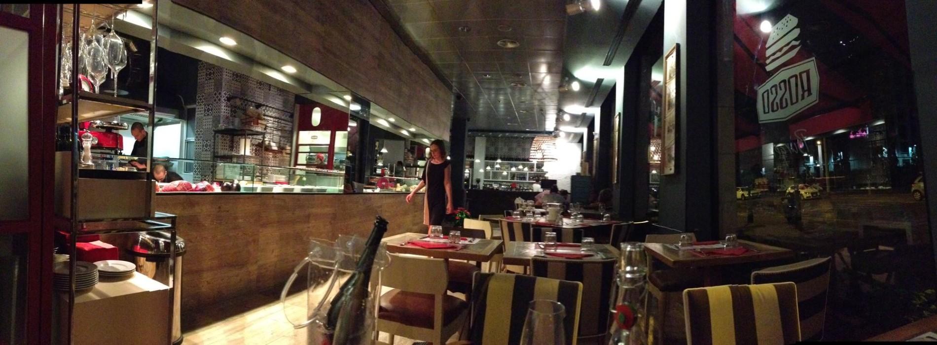 Rosso, un nuovo ristorante all'Aventino. E con Papageno e Sushi e Noodles, il viale esce dagli anni bui del deserto urbano