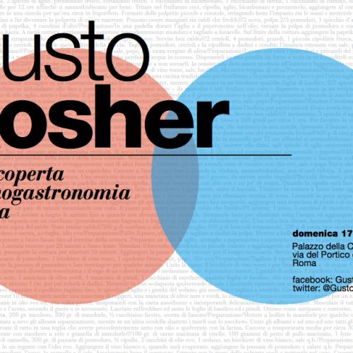 Gusto Kosher 2013, domenica a Roma l'arte culinaria ebraica
