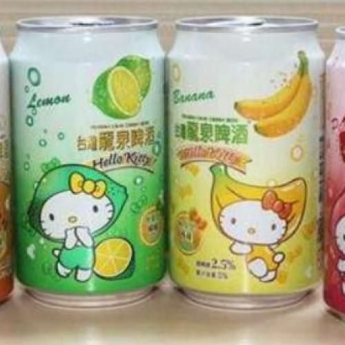 Hello Kitty beer, la birra leggermente alcolica e fruttata che spopola nel mercato asiatico