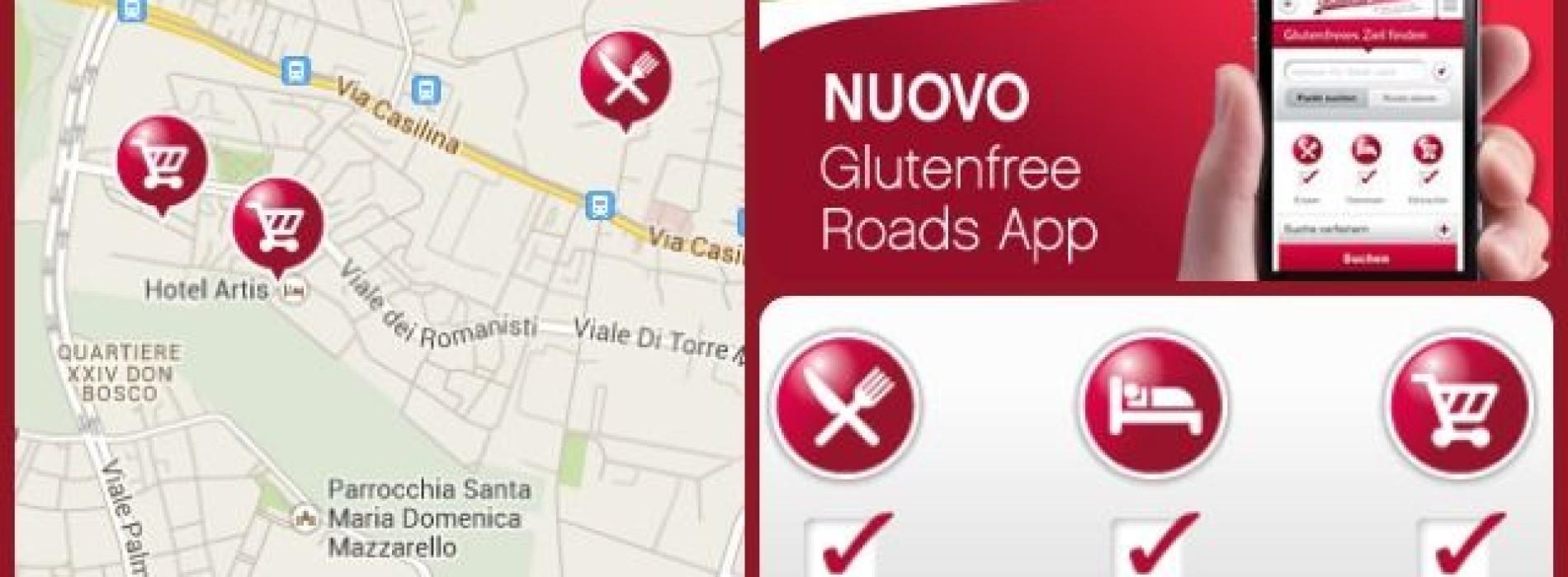 Celiaci, questa applicazione è per voi: Glutenfree roads