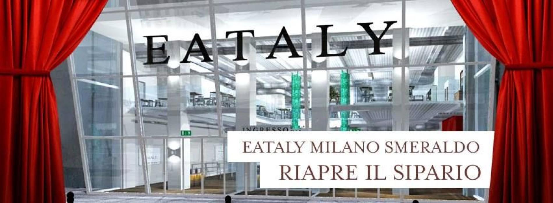 """Eataly raddoppia a Roma, in piazza della Repubblica, e apre """"Eataly Milano Smeraldo"""" il 18 marzo"""