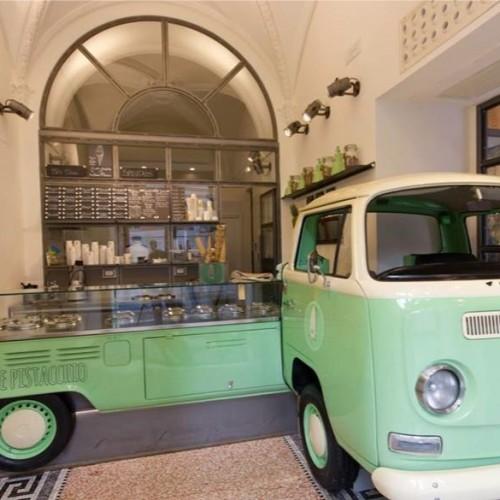 """Gelateria Verde Pistacchio a Roma, l'erede di Fassi innova e lancia il """"tristacchio"""""""