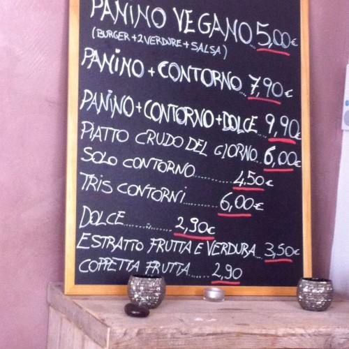 Panino Vegano a Firenze… e la pausa pranzo diventa verde e gluten free