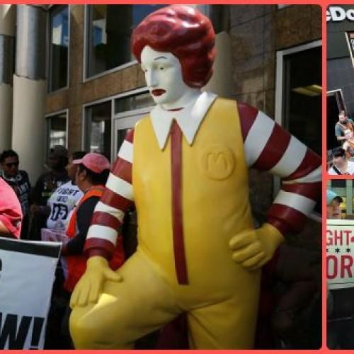 Fast food, il 15 maggio sciopero mondiale dei dipendenti McDonald's contro le paghe da fame