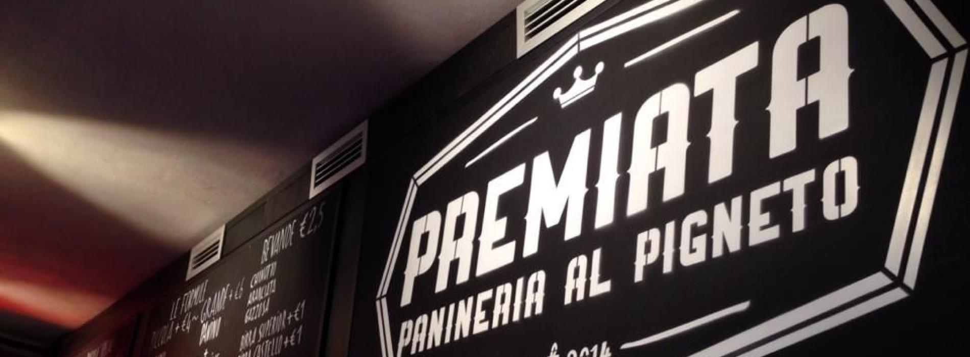 Premiata panineria Pigneto a Roma davanti a Necci: panini vegan, fish&chips, panelle e baccalà