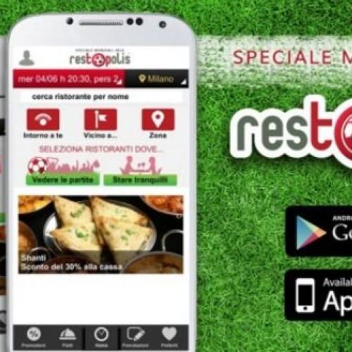 Mondiali Brasile 2014, un'app per scoprire i ristoranti dove vedere le partite
