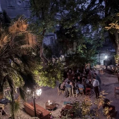 Aperitivi in terrazza a Roma/ Le Jardin 489 in Villa Brasini