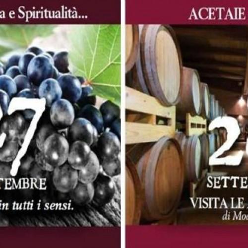 Acetaie aperte 2014 a Modena: un weekend tra cultura, gusto e spiritualità