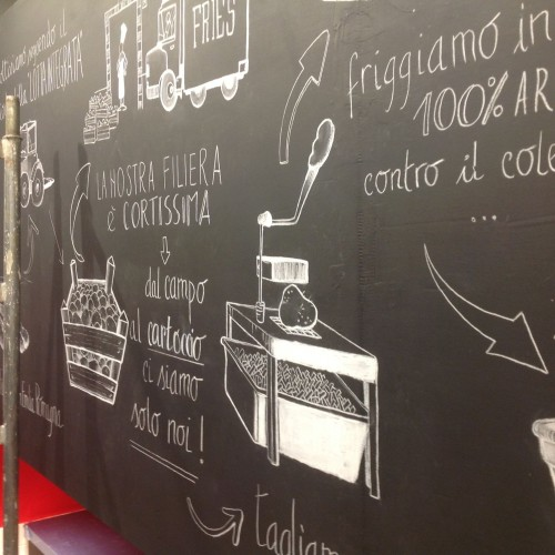 Fries a Roma, i cartocci di patatine fritte gourmet a San Pietro
