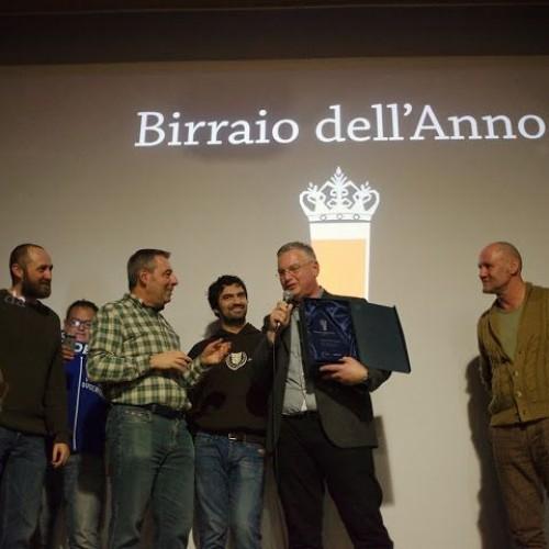 Simone Dal Cortivo è il Birraio dell'anno 2014, il Birrone vince a Firenze