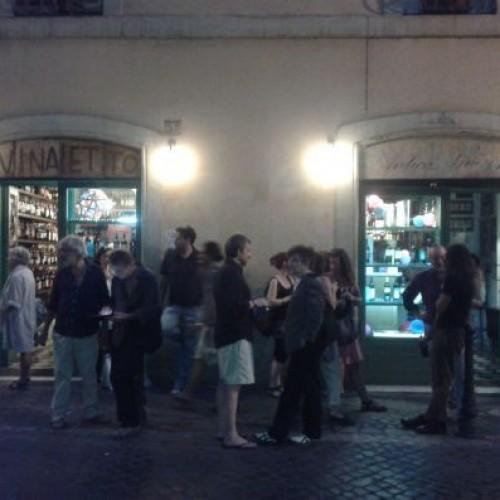 Vinaietto, Renato e Luisa, Club Derrière: tutto in una notte, al centro di Roma/1
