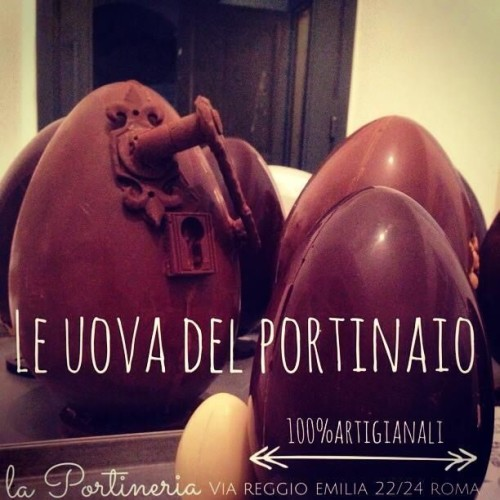 Uova di Pasqua 2015 a Roma: dal cioccolato crudo di Grezzo fino alle opere d'arte di Bompiani