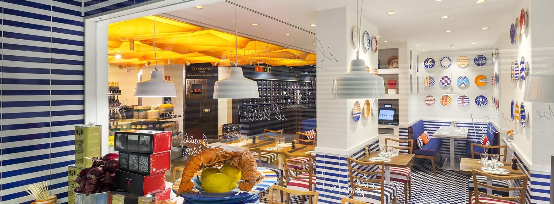 Corallo Lobster Bar a Milano: dall'astice ai gamberi, sulla Food Hall della Rinascente