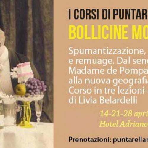 Bollicine mon amour a Roma, aprile 2015: tornano i corsi di Puntarella Rossa